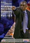 Avery Johnson atacando Defensas Individuales 1 y 2