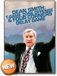 Dean Smith Ofensiva T y juego 4 Esquinas para retrasar Partido