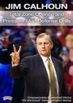 Jim Calhoun: Total Zone Offense and Pressure Man Defense Drills